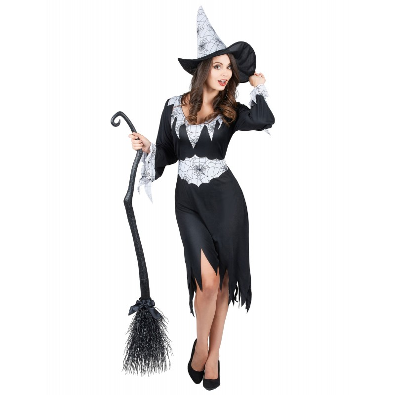 D guisement sorci re femme costume halloween a la porte bleue - Deguisement halloween adulte ...