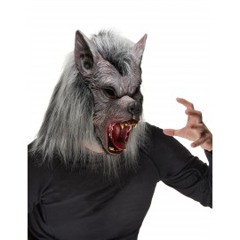 Masque Loup Garou latex adulte Halloween