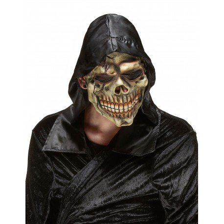 Masque de Tête de Mort latex adulte halloween