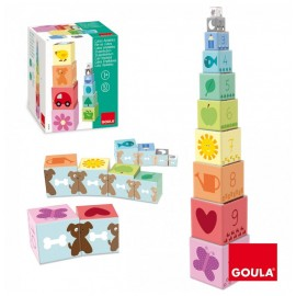Cubes empilables - Goula