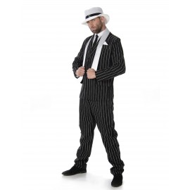 Costume gangster homme déguisement adulte