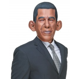 Masque humoristique latex Barack Obama