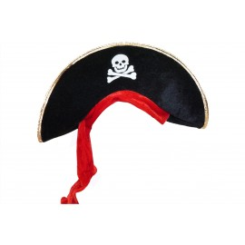 Chapeau de Pirate avec foulard adulte