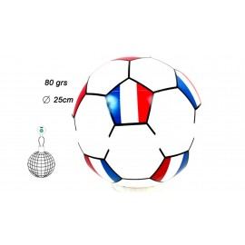 Ballon de football France à gonfler 25 cm