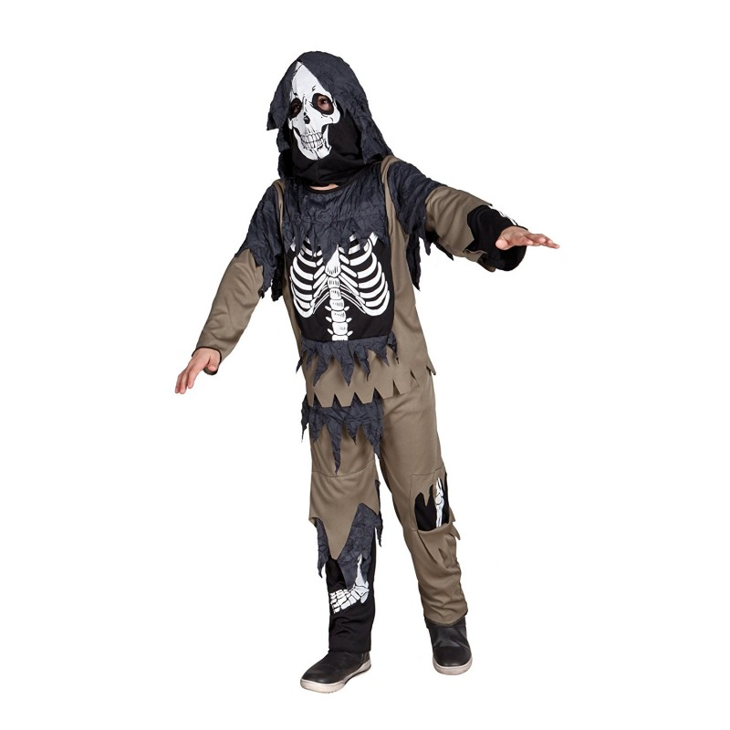 costume squelette zombie enfant halloween a la porte bleue. Black Bedroom Furniture Sets. Home Design Ideas