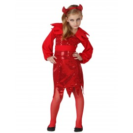 Costume diablesse fille Halloween