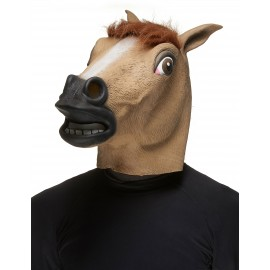 Masque cheval en latex adulte
