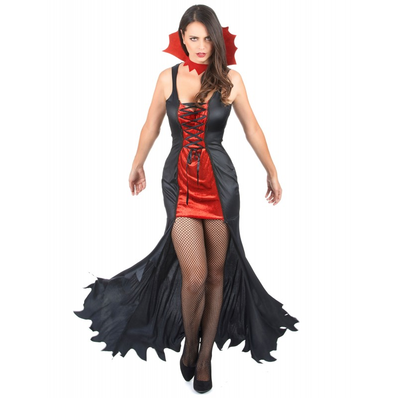 costume femme vampire d guisement halloween a la porte bleue. Black Bedroom Furniture Sets. Home Design Ideas