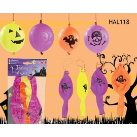 4 Ballons gonflables décoration Halloween