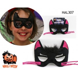 Masque de chat fille Halloween