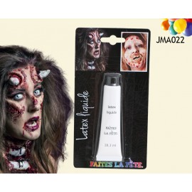 Maquillage latex liquide Halloween