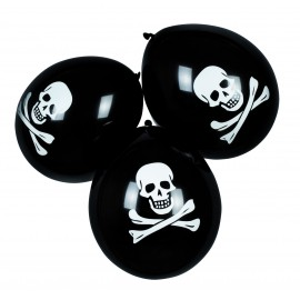 6 Ballons gonflables Pirate
