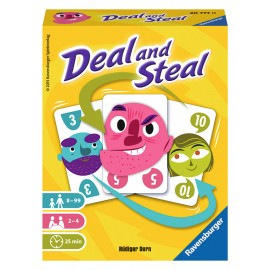 Jeu de cartes Deal and Steal - Ravensburger