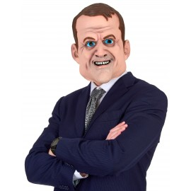 Masque humoristique latex Emmanuel Macron