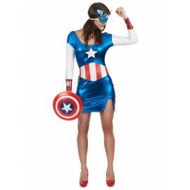 Costume Captain Girl sexy femme