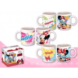 Mug en porcelaine Minnie Mouse - Tasse Disney