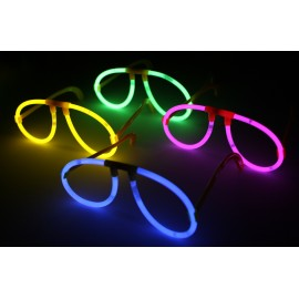 Lunettes lumineuses fluo