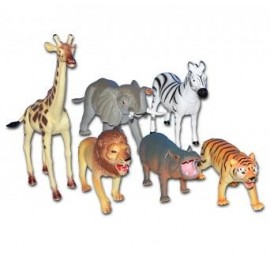 Figurines animaux de la jungle (lot de 6) jouet kermesse