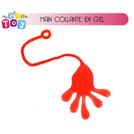 Main collante sticky géante