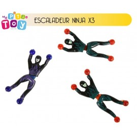 Sticky Ninja Acrobate collant (lot de 3) jouet kermesse