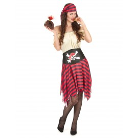 Déguisement pirate femme costume adulte
