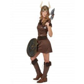 Déguisement Viking Luxe Femme costume adulte