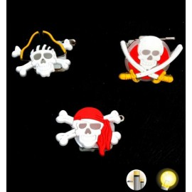 Broche de Pirate lumineuse