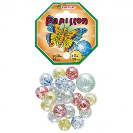 Filet de 20 billes avec calot papillon