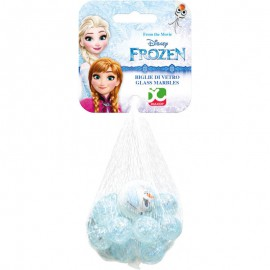 Filet de 20 billes + 1 calot - La Reine des Neiges