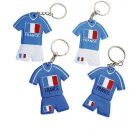Porte clés foot maillot France