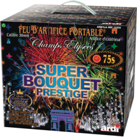 Feu d'artifice - Portable Super Bouquet Prestige 75""