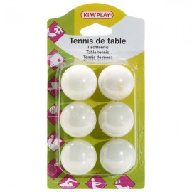 Balles de ping pong tennis de table kermesse