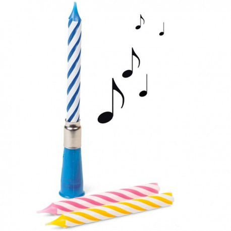 Bougie d'anniversaire musicale