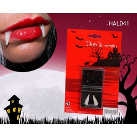 dents de vampire canines Halloween