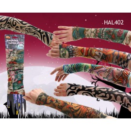 Manches faux tatouages Halloween