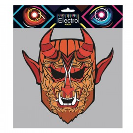 Masque Led Electro Démon Diable