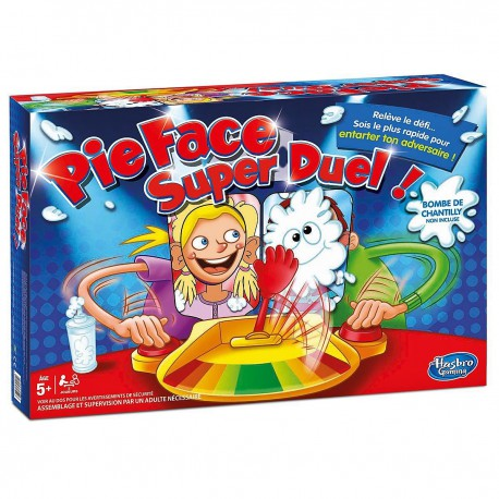 Pie Face Super Duel - Jeu d'action - Hasbro