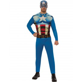 Déguisement Captain America costume marvel adulte