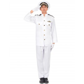 Costume Capitaine marin homme déguisement adulte