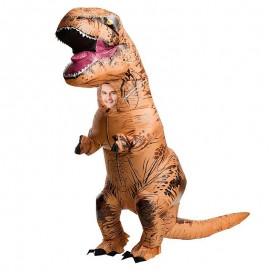 Déguisement gonflable dinosaure T-Rex costume adulte