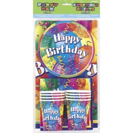 "Kit anniversaire ""Happy Birthday"" 8 personnes"