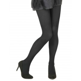 Collants opaques noir adulte