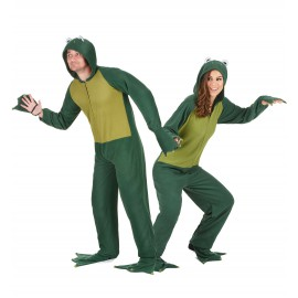 Déguisement de couple grenouille costume adulte