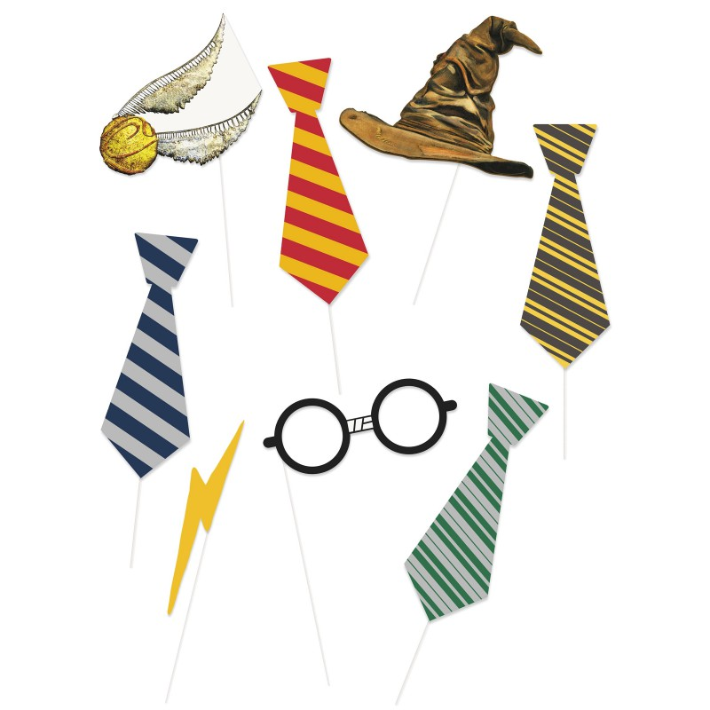 8 Harry Kit Photobooth Potter™ Pièces 0Pnk8OXNw