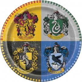 8 assiettes en carton Harry Potter ™ 23 cm
