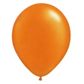 24 Ballons de baudruche orange