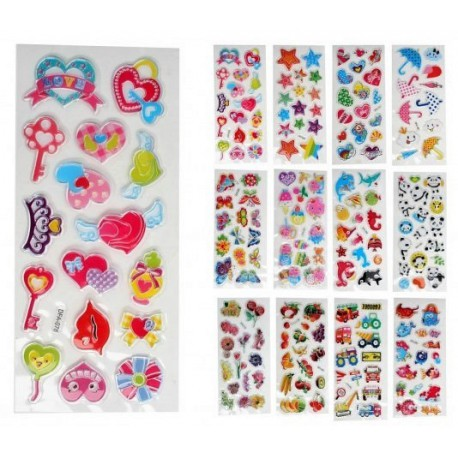 Stickers brillants assortis jouet kermesse