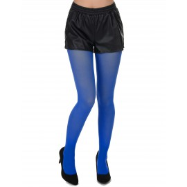 Collants bleus adulte