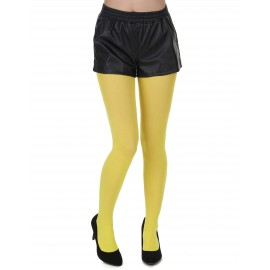 Collants jaune adulte