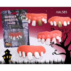 Dentier horreur monstre Halloween